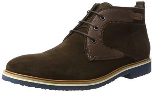 LLOYD Herren Sascha Desert Boots, Braun (T.D.Moro/Ebony/Whisky), 43 EU