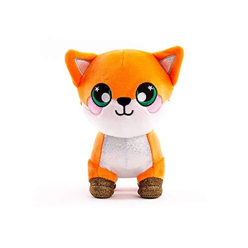 Squeezamals 3Deez Deluxe Stuffed Animals Slow-Rise Foam Emily The Fox