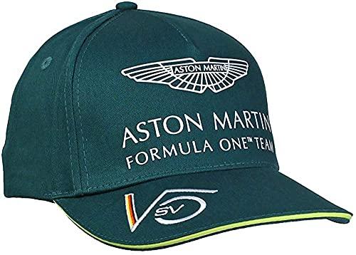 ASTON MARTIN F1 Sebastian Vettel - Gorra infantil, color verde
