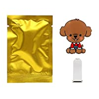 HANQQINGHENG カーアウトレット香水かわいい子犬犬の自動車エアフレッシュナーカー飾りソリッドフレグランスエアコンアウトレットクリップオートインテリア (Color : D Type)