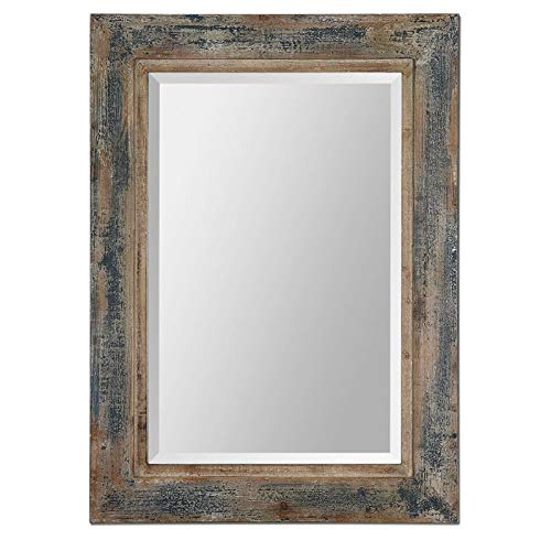 Uttermost Bozeman Decorative Mirror in Distressed -