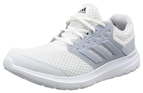 adidas Galaxy 3M, Zapatillas de Running Para Hombre, Blanco (Ftw White/Clear Green/Clear Green), 44 2/3 EU (10 UK)