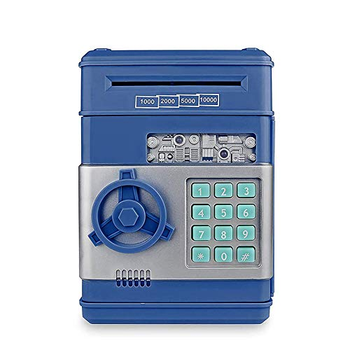 Hucha electrónica para niños, Hucha Digital con contraseña, Hucha eléctrica Grande, cajero...