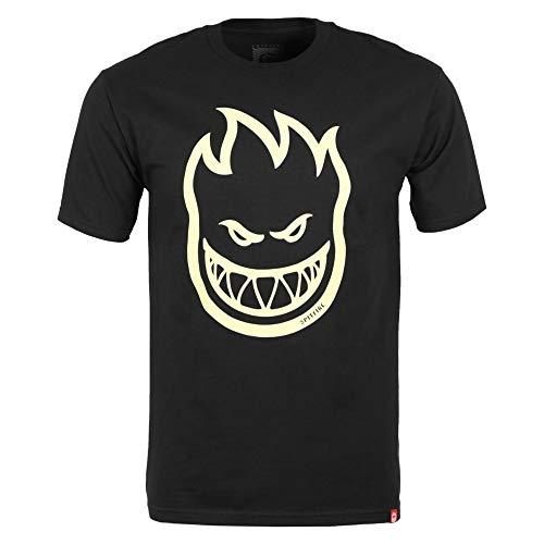 Spitfire T-Shirt Maniche Corte Uomo Bighead Black M