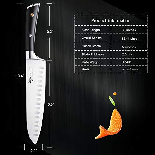 Mad Shark Pro Seven-Inch Santoku Knife