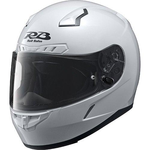 ヤマハ(YAMAHA) バイクヘルメット フルフェイス YF-8 RollBahn ソリッド 90791-1741M パールホワイト M (頭囲 57cm~58cm)