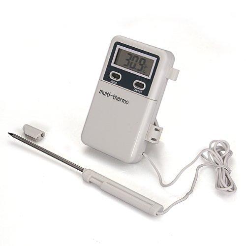 Sonline Termometro Digital Sonda De Metal De Cocina