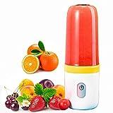 CalmDo Licuadora Portátil, Mezclador de Frutas eléctrico, Batidora para Fruta, Verdura, Smoothies y Batidos