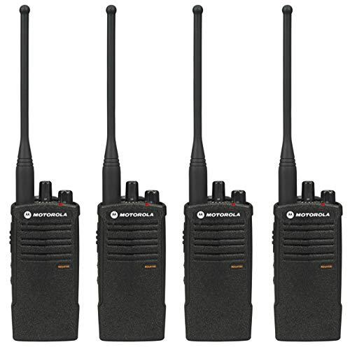 Motorola RDU4100 RDX Business 2-Way UHF Professional Two Way Radio (4-Pack)