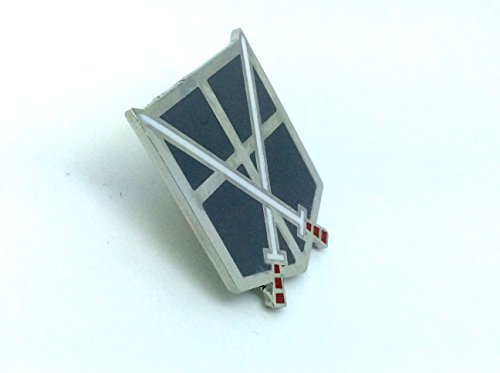 Patch Nation Attack on Titan Shingeki no Kyojin Training Corps Pin Badge