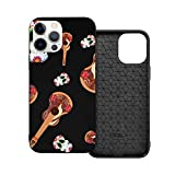Case Compatible With Iphone 12Pro Max Case 6.1Inches Day Of The Dead Celebration Case For Iphone 12 Protector Shockproof Flexible Tpu Bumper And Transparent Hard Pc Back