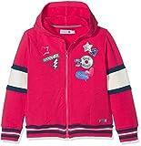 boboli Fleece Jacket Stretch For Girl Sudadera, Rojo (Escarlata 3591), 6 años (Tamaño del Fabricante:6) para Niñas