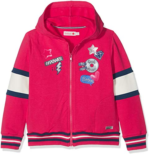 Boboli Boboli Mädchen Fleece Jacket Stretch for Girl Sweatshirt, Rot (Escarlata 3591), 5 Jahre