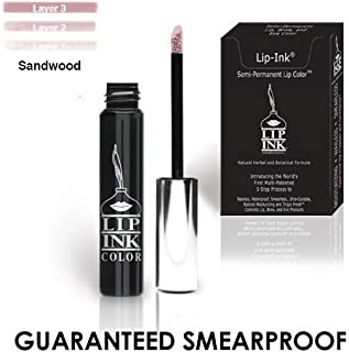 LIP INK 100% Smearproof Trial Lip Kits, Sandwood