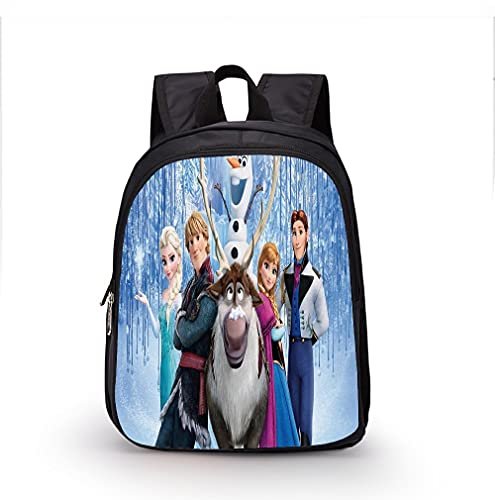 YANGGUIMEI Mini Mochila para, Mochila congelada para niñas, Bolso de Viaje Daypack Ligero, Ajustable, Acolchado, Acolchado, Cierre de straphipper. (Color : 4, Size : 35x27x14cm)