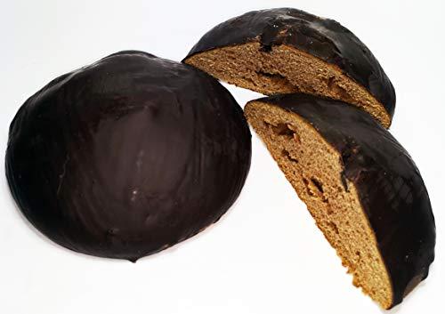 Lebkuchentaler mit Schokolade - weihnachtsliches Gebäck zum Kaffee oder Tee - handwerkliche Herstellung altbewährte Rezeptur - Tradition seit 1911 Landbäckerei Dietrich