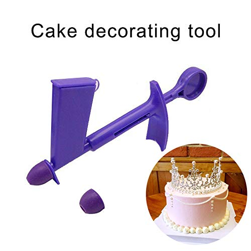 gfhjgjhj - Aplicador de Perlas para Pasteles, aplicador de Perlas de plástico, Herramienta para decoración de Pasteles, Bolas de azúcar, Herramientas