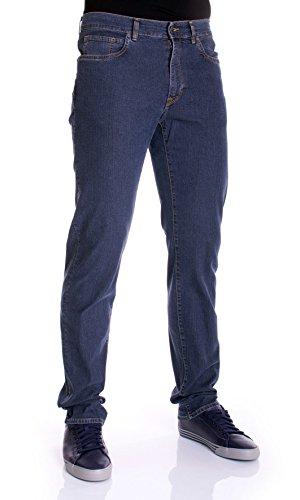 Trussardi Jeans | Jeans Uomo Denim MOD.380 Icon col.Blu - 525361XX, Taglia - 35/49