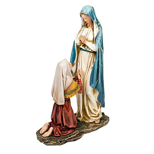Our Lady of Lourdes Statue Figurine Virgin Mary