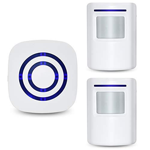 Tengcong Door Chime,Wireless Business Door Motion Sensor Detector Smart Visitor doorbell Home...