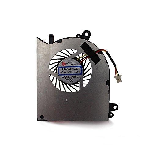 Nueva GPU ventilador de refrigeración para MSI GS60portátil 0,55A 5VDC PAAD06015SL N293