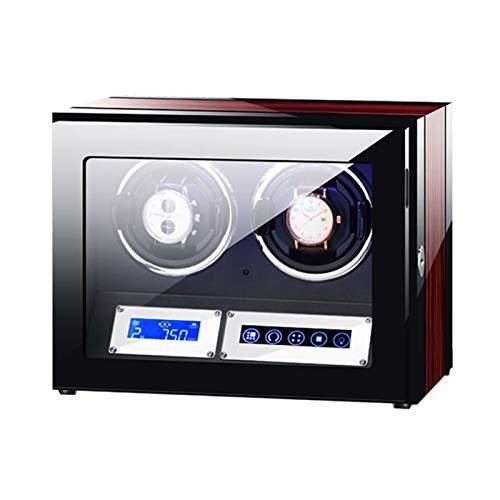 AYYEBO Enrollador Reloj Automático Pantalla LCD Táctil con Mando A Distancia Iluminación Incorporada Almohadas Reloj Flexibles para Hombres Mujeres (Size : 2+0)