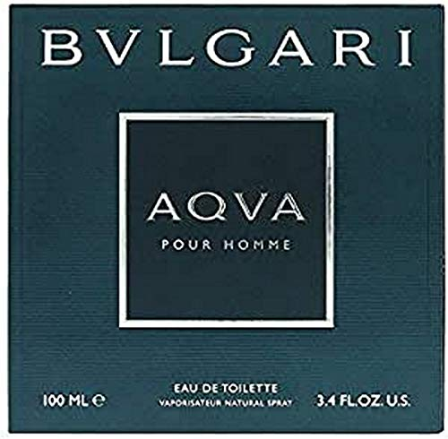 Bvlgari Aqva Pour Homme Spray for Men, 3.4 Fl. Oz