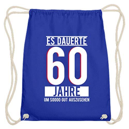 Desconocido Tiene 60 años de duración, para ver bien a Sooo. 60 cumpleaños, idea de regalo, sesenta – Algodón Gymsac, color, talla 37cm-46cm