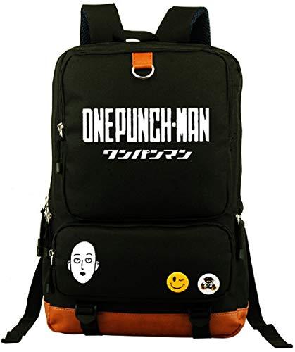 YOYOSHome One-Punch Man Anime Saitama Cosplay Luminous Daypack Rucksack Backpack School Bag