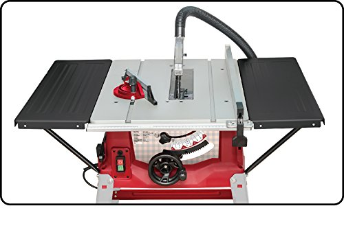Lumberjack TS250SL 250mm Table Saw with side extensions, Table size 930 x 640 mm