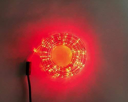 LED Lichtschlauch Lichterschlauch Licht Leiste Schlauch Lichterkette Außen Innen 4 Farben 5 Meter (Rot)