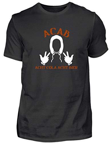 A.C.A.B. - Acht Cola Acht Bier - All Cops Are Bastards - Alle politieagenten zijn Bastarde - herenshirt