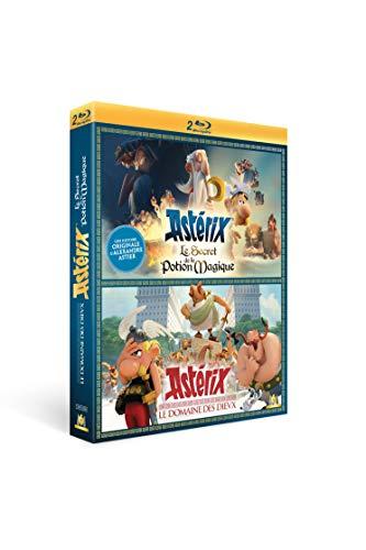 Astérix-Le Domaine des Dieux + Le Secret de la Potion Magique [Blu-Ray]
