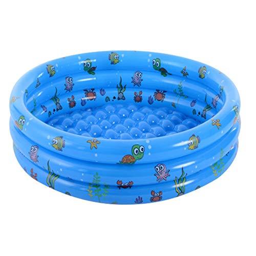 Piscina inflable redonda del bebé de la piscina inflable portátil de los niños de la piscina infantil de la piscina remo