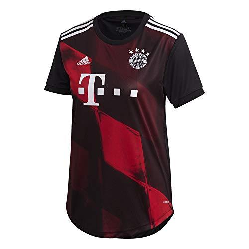 adidas Damen 20/21 FC Bayern 3rd Jersey Trikot, Black, M