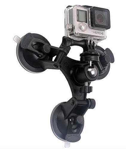 Sterke 3x zuignap voor GoPro camera Hero 2 3 3+ 4