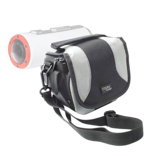 DURAGADGET Comodísimo Bolso para Polaroid XS100 Extreme Edition - Acolchada,con Bandolera Y...