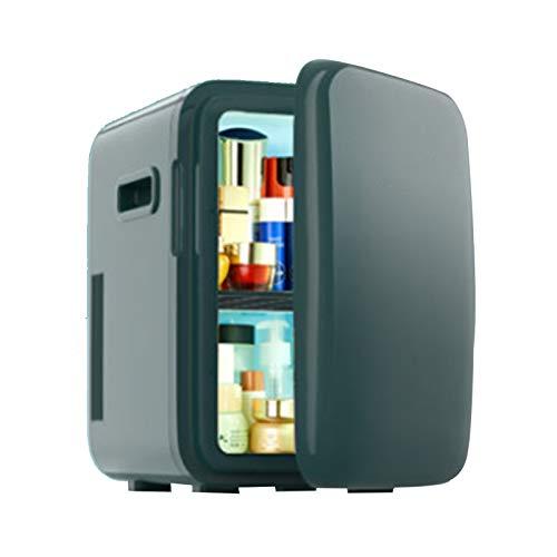 GUTYRE Refrigerador De Belleza, Mini Refrigerador Congelador, Refrigerador Doméstico De Belleza Profesional, Gabinete De Almacenamiento De Cosméticos para El Cuidado De La Piel,Verde