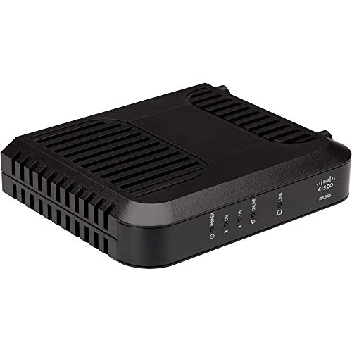 Cisco DPC3008 (Comcast, TWC, Cox Version) DOCSIS 3.0 Cable Modem (Renewed)