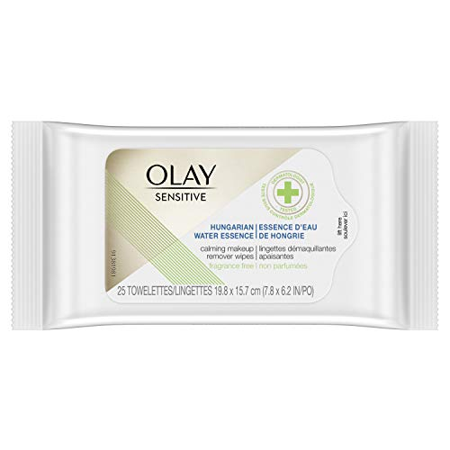 Olay Sensitive Hungarian Water Essence Calming Makeup Remover Wipes - 25ct, 25count