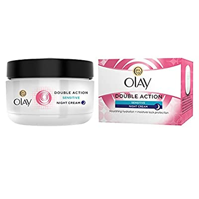 Olay Anti-Wrinkle Sensitive Skin Night Cream Moisturiser, 50 ml