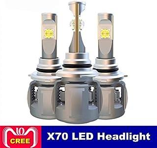 X70 H4 H7 H1 9005 9006車のLEDヘッドライト電球H11 H8 D1S D2S D4S hp Ledランプチップ120W 15600LMヘッドランプフォグランプ6000K