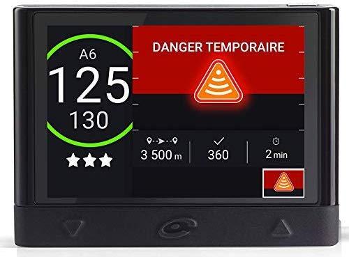 Coyote Mini (France) - Assistant d'Aide à la Conduite - Avertisseur Dépassement Vitesse - Alertes Dangers, Trafic et Perturbations en Temps Réel - Format Mini - Connectivité Bluetooth
