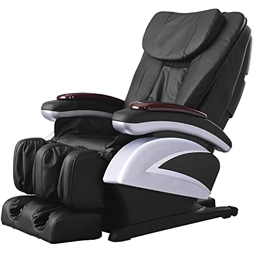 KosmoCare Shiatsu Massage chair for Stress Relief | Heavy Duty Recliner Chair with Built-in Heat...