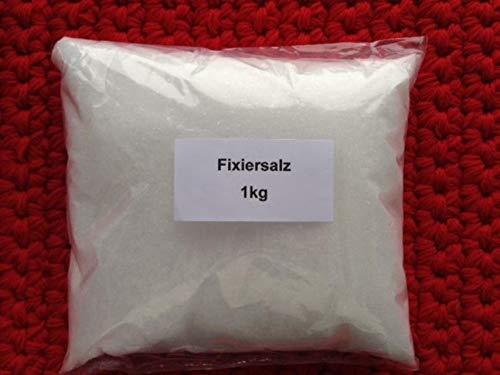 Wolle und Seide färben. 1 kg Fixiersalz (Luvotex), ausreichend für 20 kg ! Wolle u.o. Seide