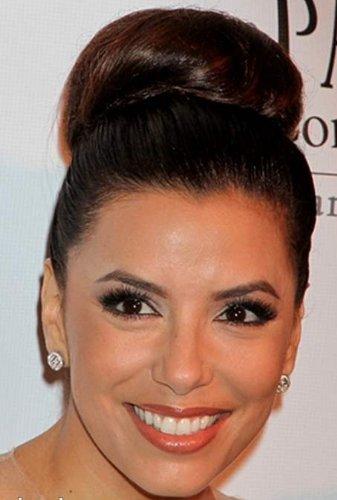 Vanessa Grey Hair Designs MOÑO DESPEINADO (EN LA Nuca O AL Lado) O MOÑO Alto CASTAÑO Oscuro Col 4