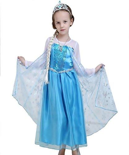 Inception Pro Infinite Talla 110 - 3/4 años - Disfraz - Carnaval - Halloween - Elsa - niña - clásico - Frozen