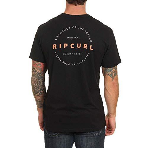 Camiseta Rip Curl Authentic Negro