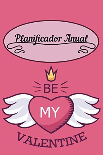 Planificador Anual: 6x9 Calendario de Flores o Planificador Semanal - Idea de Regalo del Planificador de Citas y Regalo Único para Mujeres, Esposa e Hija.