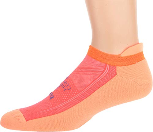 Price comparison product image balega Hidden Comfort Peach / Neon Coral SM (US Women's 6-8)